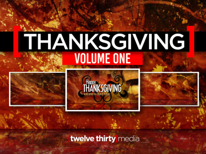 THANKSGIVING: VOLUME ONE
