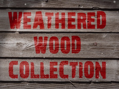 SNOW AND WEATHERED WOOD COLLECTION