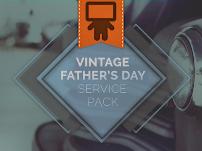 VINTAGE FATHER'S DAY SERVICE PACK