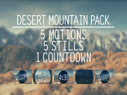DESERT MOUNTAIN PACK