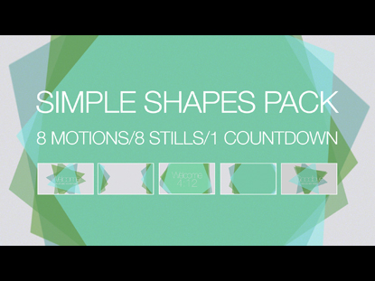SIMPLE SHAPES PACK