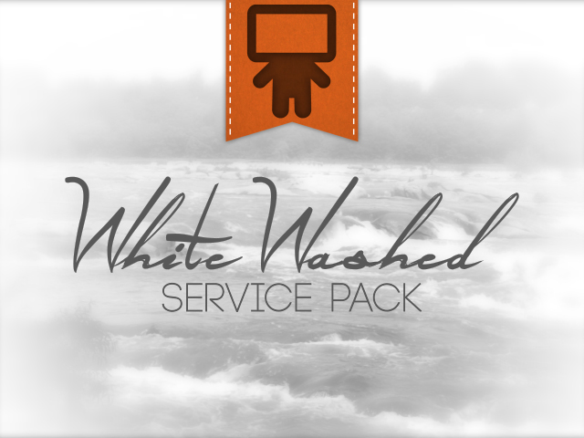 WHITE WASHED SERVICE PACK