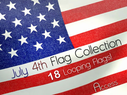 JULY 4TH FLAG COLLECTION