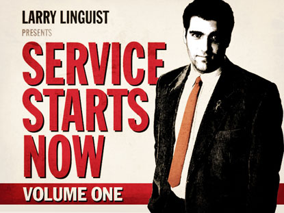 LARRY LINGUIST: SERVICE STARTS NOW VOL. 1