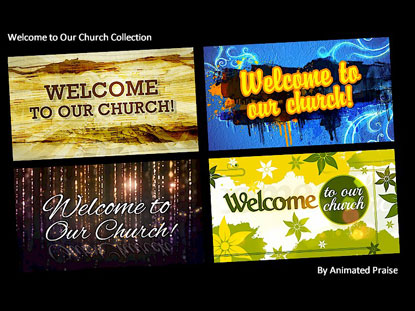 WELCOME TO OUR CHURCH COLLECTION