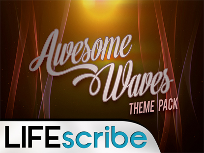 AWESOME WAVES THEME PACK