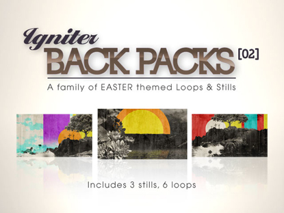 BACK PACKS 02: EASTER