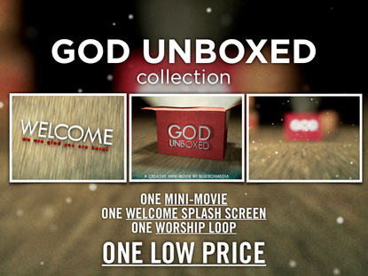 GOD UNBOXED MEDIA PACK