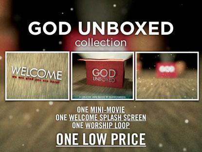 GOD UNBOXED MEDIA PACK