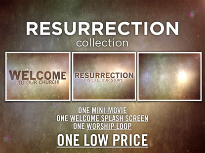 RESURRECTION MEDIA PACK