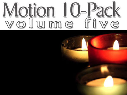 CHRISTMAS CANDLE LOOPS 6-PACK