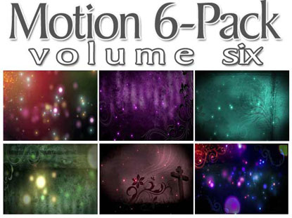 GLOWING LIGHTS MOTION 6-PACK