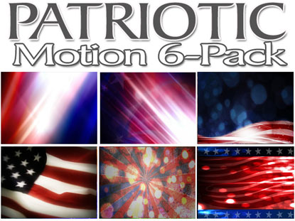 PATRIOTIC MOTION 6-PACK