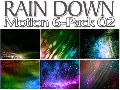 RAIN DOWN MOTION 6 PACK: VOL. 2