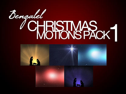 CHRISTMAS MOTIONS PACK 1