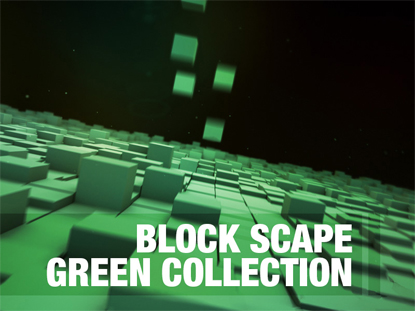 BLOCK SCAPE GREEN COLLECTION