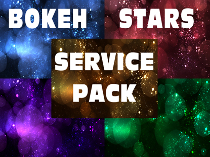 BOKEH STARS SERVICE PACK