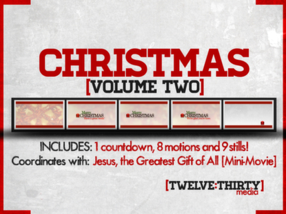 CHRISTMAS: VOLUME TWO