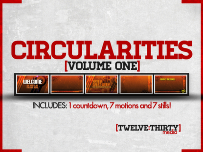 CIRCULARITIES: VOLUME ONE