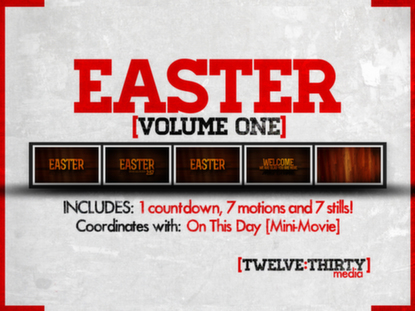 EASTER: VOLUME ONE