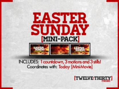 EASTER SUNDAY: MINI-PACK