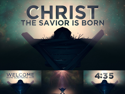 COMPLETE SERVICE PACK: CHRIST THE SAVIOR IS BORN