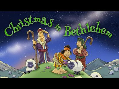 CHRISTMAS IN BETHLEHEM PRESCHOOL SERIES