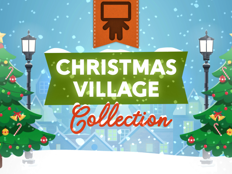 CHRISTMAS VILLAGE COLLECTION - SPANISH
