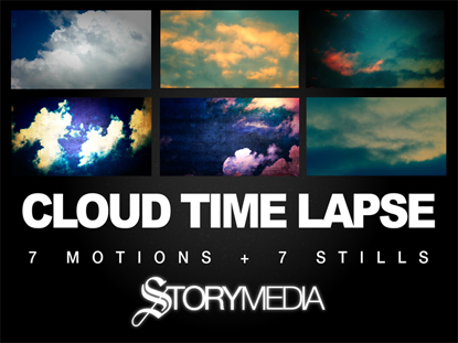 CLOUD TIME LAPSE MOTION PACK