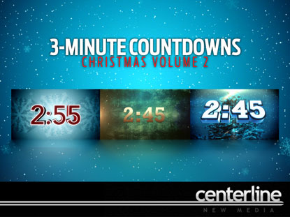3-MINUTE COUNTDOWNS: CHRISTMAS VOLUME 2