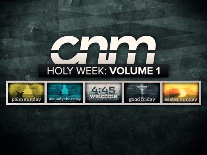 HOLY WEEK: VOLUME ONE