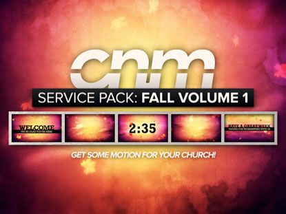 SERVICE PACK: FALL VOLUME 1
