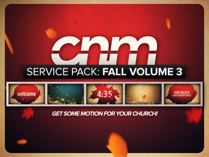 SERVICE PACK: FALL VOLUME 3