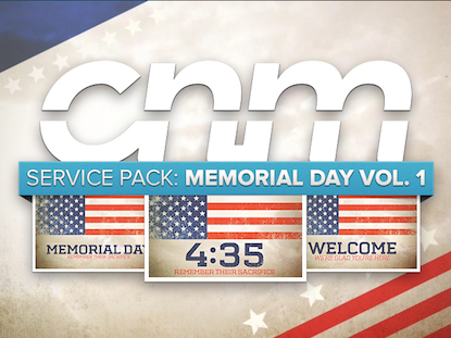 SERVICE PACK: MEMORIAL DAY VOL. 1
