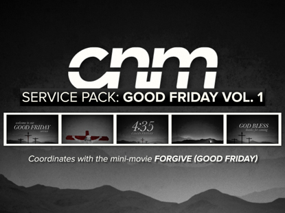 SERVICE PACK: GOOD FRIDAY VOLUME 1