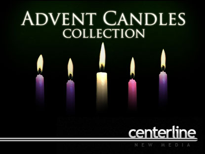 ADVENT CANDLES COLLECTION