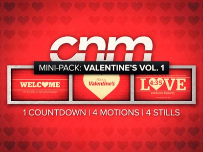 MINI-PACK: VALENTINE'S DAY VOLUME 1