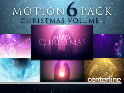MOTION 6 PACK: CHRISTMAS VOLUME 1