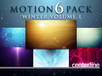 MOTION 6 PACK: WINTER VOLUME 1