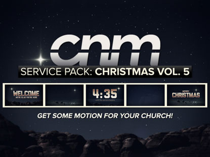 SERVICE PACK: CHRISTMAS VOLUME 5