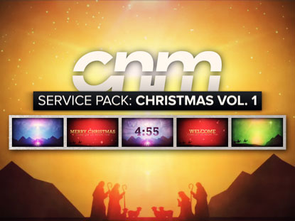 SERVICE PACK: CHRISTMAS VOLUME 1