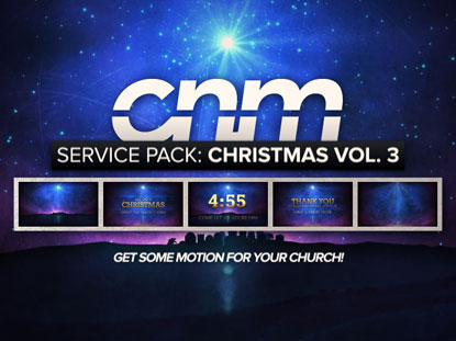 SERVICE PACK: CHRISTMAS VOLUME 3