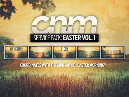 SERVICE PACK: EASTER VOLUME 1
