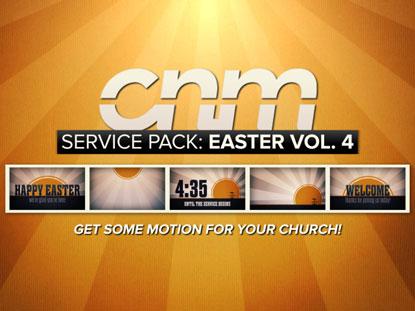 SERVICE PACK: EASTER VOLUME 4