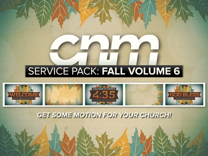 SERVICE PACK: FALL VOLUME 6