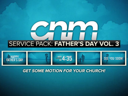 SERVICE PACK: FATHER'S DAY VOLUME 3