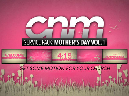 SERVICE PACK: MOTHER'S DAY VOLUME 1
