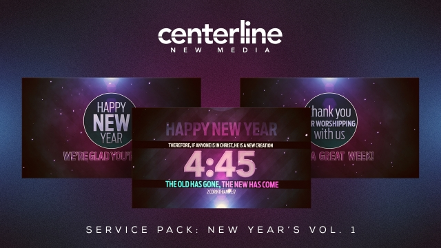 SERVICE PACK: NEW YEAR'S VOLUME 1