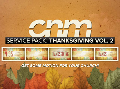 SERVICE PACK: THANKSGIVING VOLUME 2
