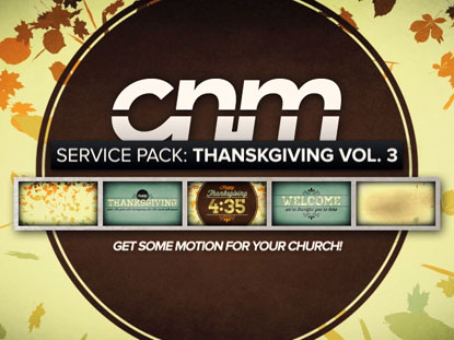 SERVICE PACK: THANKSGIVING VOLUME 3